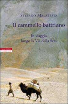 Il cammello battriano. In viaggio lungo la via della seta - Stefano Malatesta - copertina