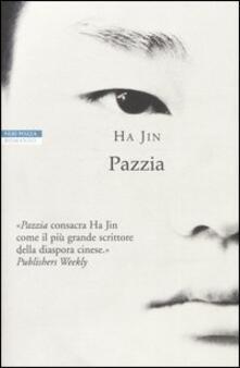 Pazzia - Jin Ha - copertina