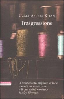 Trasgressione - Uzma A. Khan - copertina