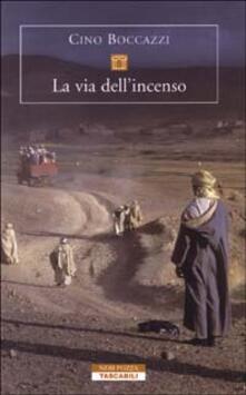 La via dell'incenso - Cino Boccazzi - copertina