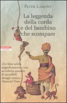 La leggenda della corda e del bambino che scompare - Peter Lamont - copertina