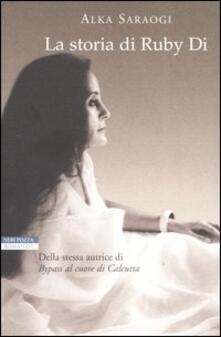 La storia di Ruby Di - Alka Saraogi - copertina