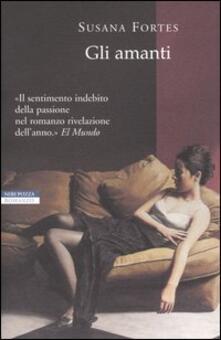 Gli amanti - Susana Fortes - copertina