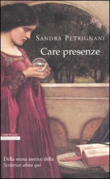 Care presenze - Sandra Petrignani - copertina
