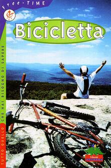 Bicicletta - Clive Gifford - copertina