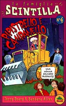 Pipistrello e Campanello - Terry Deary,Barbara Allen - copertina