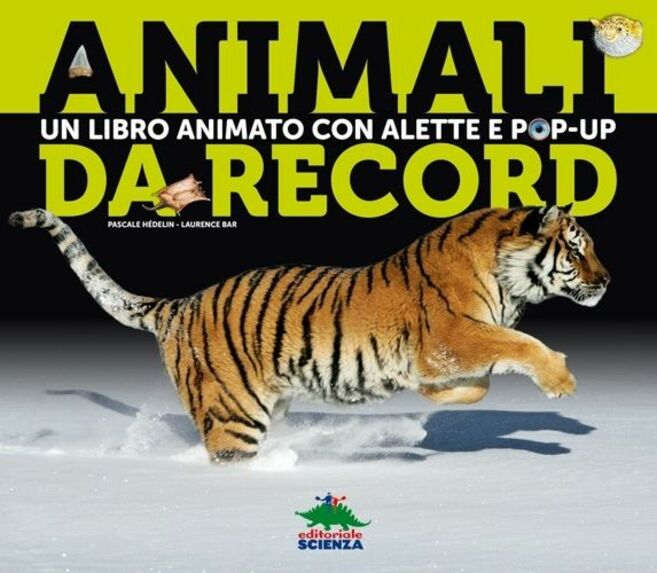 Animali da record. Libro pop-up