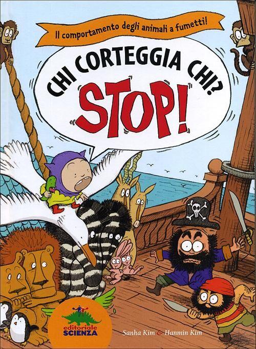 Chi corteggia chi? Il comportamento degli animali a fumetti! Stop!