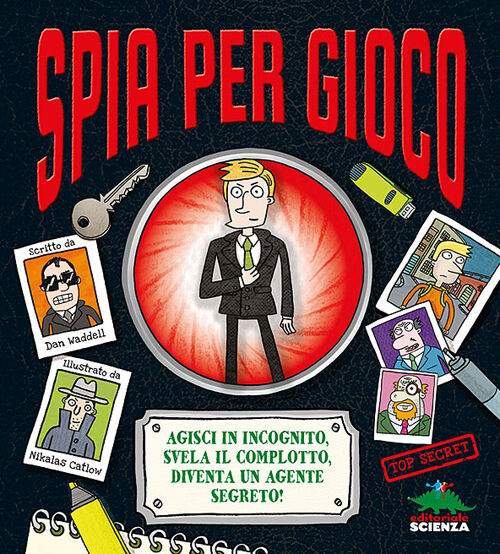 Spia per gioco. Libro pop-up