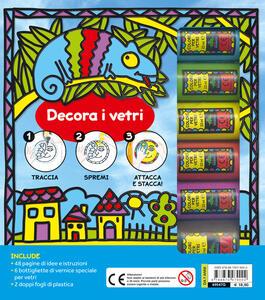 Vetri artistici. Crea decorazioni rimovibili. Ediz. a colori. Con gadget - Chiara Sepin - 2