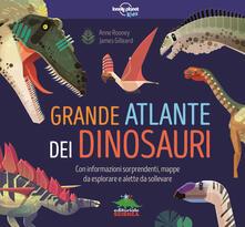 Osteriacasadimare.it Grande atlante dei dinosauri. Informazioni sorprendenti, mappe da esplorare e alette da sollevare Image