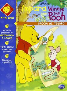 Winnie e la caccia al tesoro - copertina