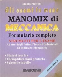 Radiospeed.it Manomix di meccanica. Per le Scuole superiori Image