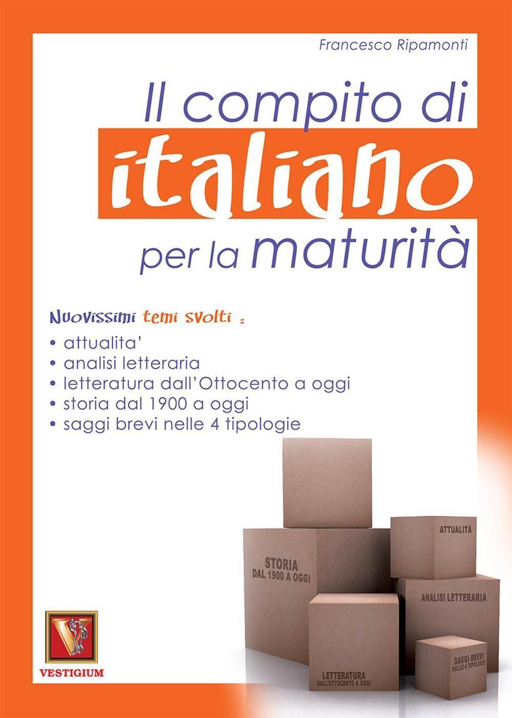 Il compito di italiano per la maturità