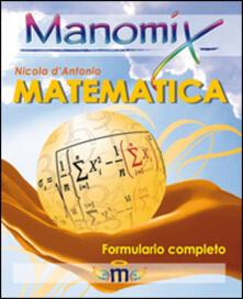 Cocktaillab.it Manomix di matematica. Formulario completo Image