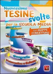 Premioquesti.it Nuovissime tesine svolte. Con mappe concettuali. Per la Scuola media Image