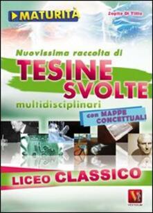 Librisulladiversita.it Nuovissima raccolta di tesine svolte per la maturità. Liceo classico Image