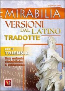 Festivalshakespeare.it Mirabilia. Versioni dal latino tradotte per il triennio Image