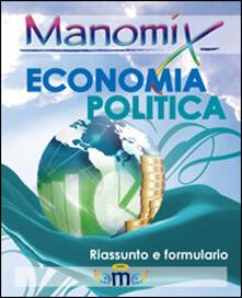 Promoartpalermo.it Manomix. Economia politica. Formule e sintesi Image