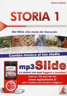 Listadelpopolo.it Storia. Riassunto da leggere e ascoltare. Con file MP3. Vol. 1: Dal Mille alla metà del Seicento. Image