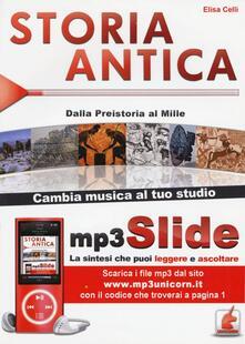 Milanospringparade.it Storia antica. Dalla Preistoria al Mille. Riassunto da leggere e ascoltare. Con file MP3 Image