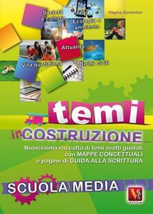 Letterarioprimopiano.it Temi in costruzione. Per la Scuola media Image