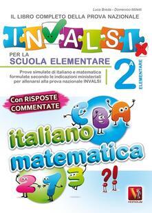 Aboutschuster.de Il libro completo della nuova prova INVALSI per la scuola elementare. 2ª elementare. Italiano e matematica Image
