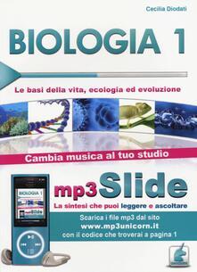 Winniearcher.com Biologia. Riassunto da leggere e ascoltare. Con file MP3. Vol. 1: Le basi della vita, ecologia ed evoluzione. Image
