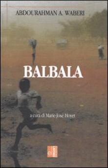 Balbala - Abdourahman A. Waberi - copertina