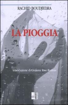 La pioggia - Rachid Boudjedra - copertina