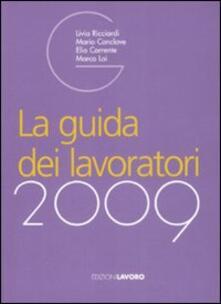 La guida dei lavoratori 2009 - copertina