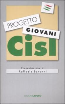 Progetto giovani CISL - copertina
