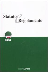 Statuto e regolamento