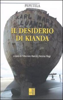 Il desiderio di Kianda - Pepetela - copertina