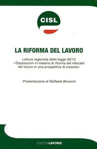 La riforma del lavoro - copertina