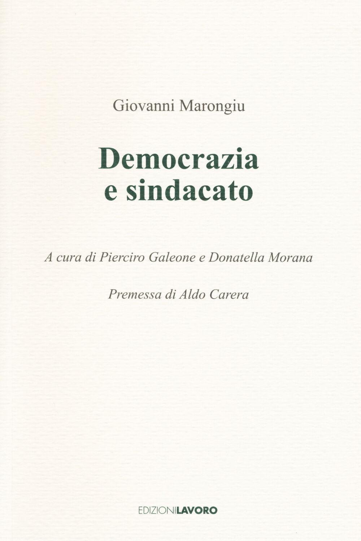 Democrazia e sindacato