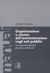 L' organizzazione e la scienza dell'amministrazione