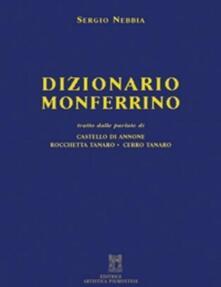 Dizionario monferrino - Sergio Nebbia - copertina