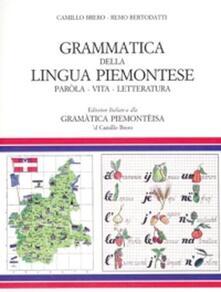 Fondazionesergioperlamusica.it Grammatica della lingua piemontese. Paròla, vita, letteratura Image