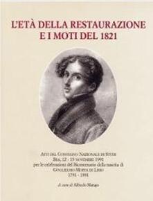 L' età della Restaurazione e i moti del 1821 - copertina