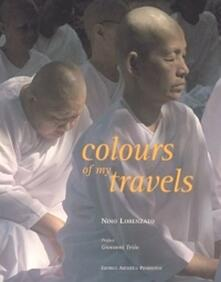 Colours of my travels - Nino Lorenzato - copertina
