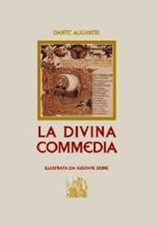 La Divina Commedia - Dante Alighieri - copertina