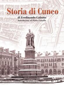 Storia di Cuneo - Ferdinando Gabotto - copertina