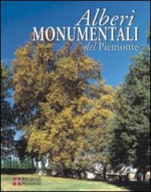 Alberi monumentali del Piemonte - copertina