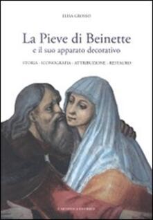 La pieve di Beinette e il suo apparato decorativo. Storia, iconografia, attribuzione, restauro - Elisa Grosso - copertina
