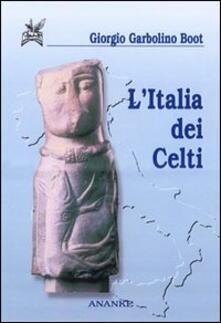 L' Italia dei celti - Giorgio Garbolino Boot - copertina