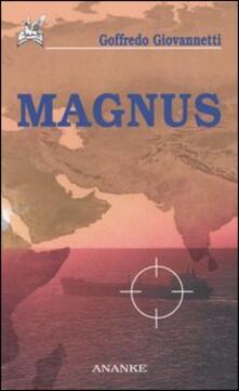 Magnus - Goffredo Giovannetti - copertina