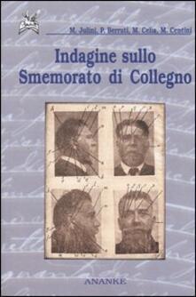 Indagine sullo smemorato di Collegno - copertina