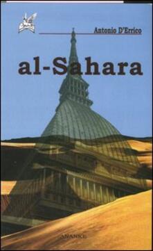 Al-Sahara - Antonio D'Errico - copertina