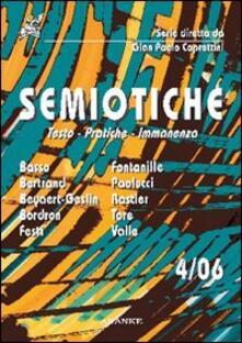 Semiotiche (2006). Vol. 4 - copertina